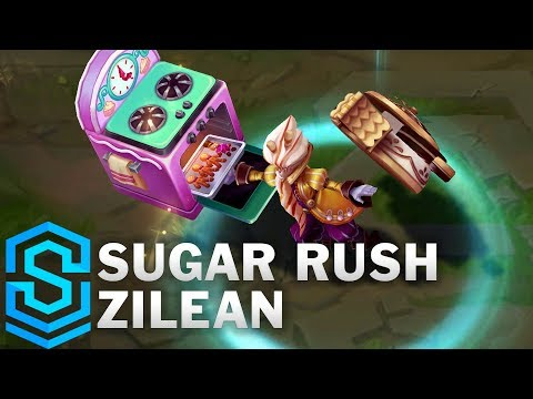 Sugar Rush Zilean Skin Spotlight - Pre-Release - League of Legends