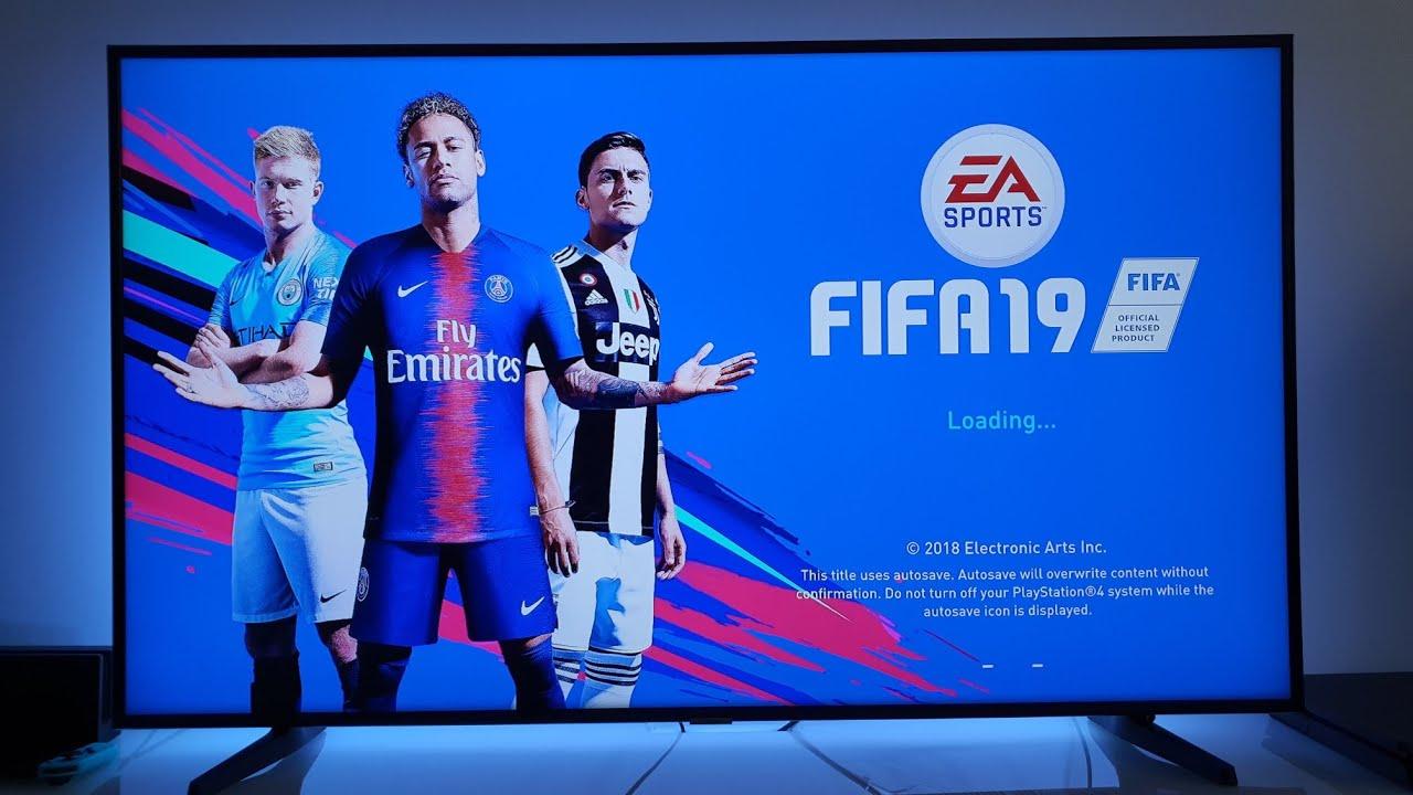 Download FIFA 19 PS4 gameplay | 4K TV