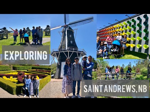 QUICK TRIP TO SAINT ANDREWS, NEW BRUNSWICK | ARTrageous FESTIVAL 2019 | VLOG #6