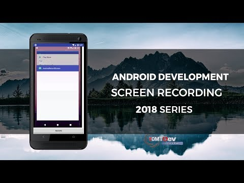 Android Development Tutorial - Screen Recording - YouTube