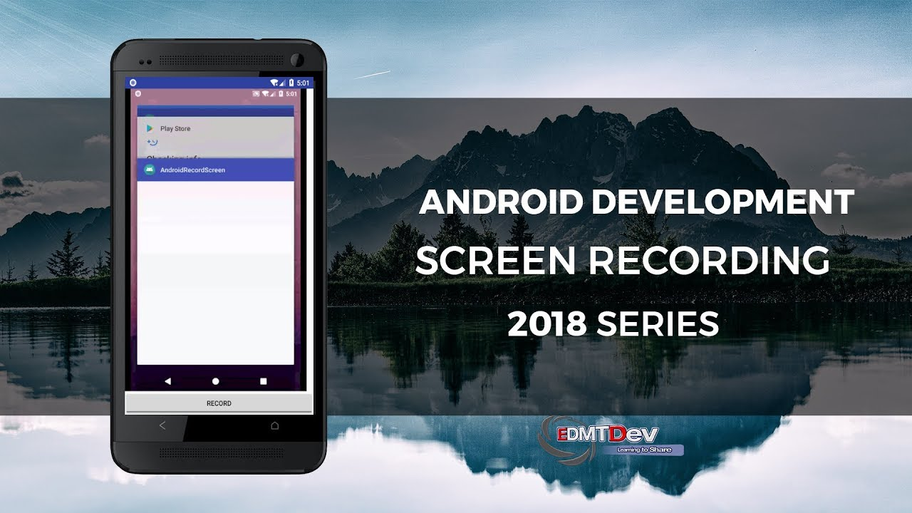 Android Programmatically Record Screen