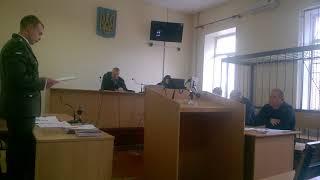 Выступлени военного прокурора по делу Анатолия Похвалитого