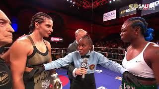 CLARESSA SHIELDS VS CHRISTINA HAMMER FULL FIGHT