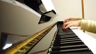 弾いてみた ピアノ 雨の慕情 八代亜紀
