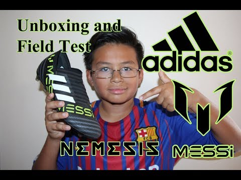 unboxing-and-field-test-of-messi-nemeziz-17+-360-agility-firm-ground-cleats-/-boots-kids