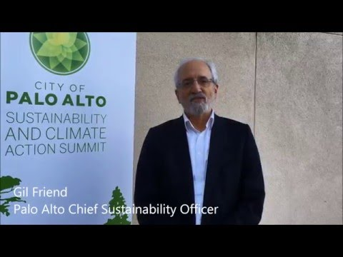 Interview with Gil Friend - Palo Alto's Chief Sustainability Officer