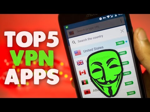 TOP 5 BEST FREE VPN SERVICES FOR ANDROID 2017 ! BEST VPN APP !