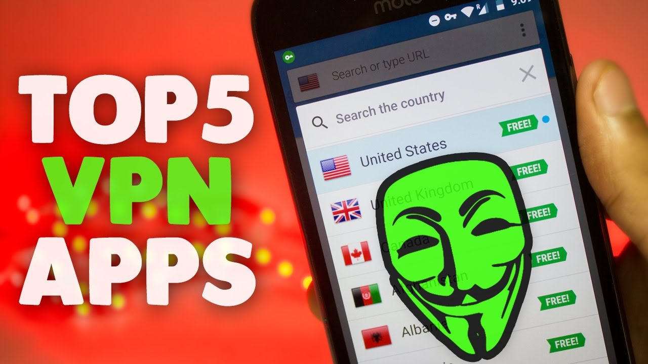 Top 5 Best Free Vpn Services For Android 2017 Best Vpn App Youtube