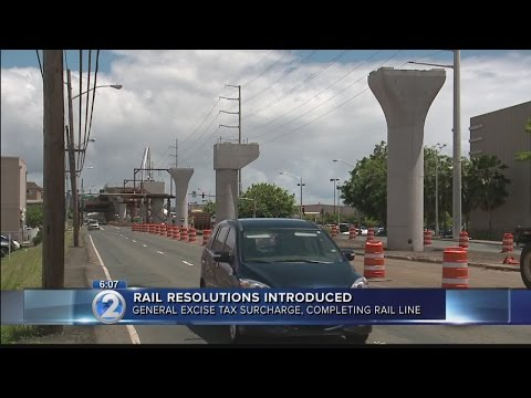 City council considers resolutions to support Honolulu's rail project