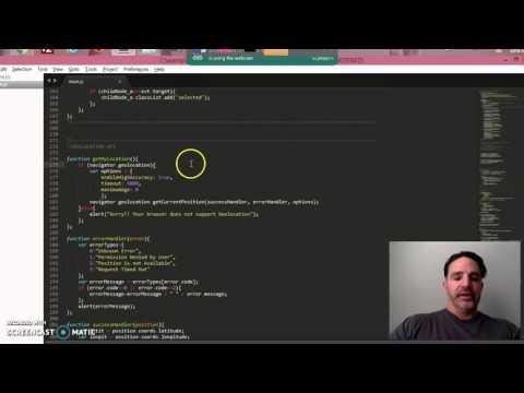 Javascript Geolocation API