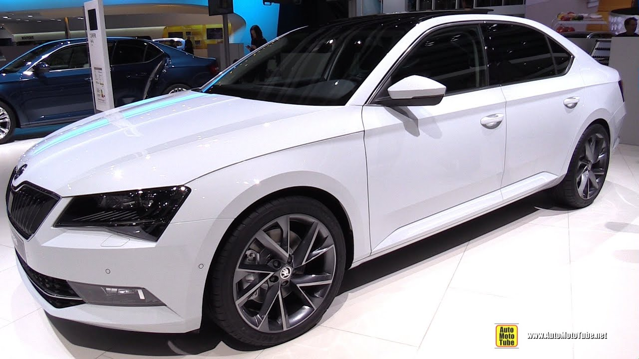 2016 skoda superb style 2 0 tsi 280hp exterior interior walkaround 2015 geneva motor show. Black Bedroom Furniture Sets. Home Design Ideas