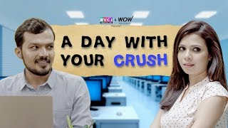 A Day With Your Crush | ft. Shreya Gupto & Lalitam Anand | RVCJ