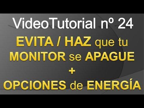 TPI - Videotutorial nº24 - Cómo EVITAR / APAGAR auto tu MONITOR & OPCIONES ENERGÍA