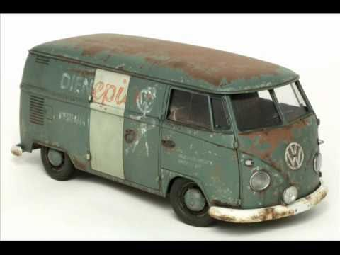 Hasagawa 1967 Volkswagen type 2 Delivery Van 1-24 scale part 2.