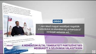 A Momentum által támogatott pártszövetség megbukott a szlovákiai választáson