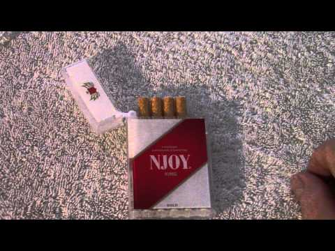 NJOY King Review - The Red NJOY King Bold 5 - Pack Of Disposables