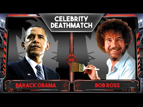 WWE 2K16 Celebrity Deathmatch Tournament :: Bob Ross Vs Barack Obama