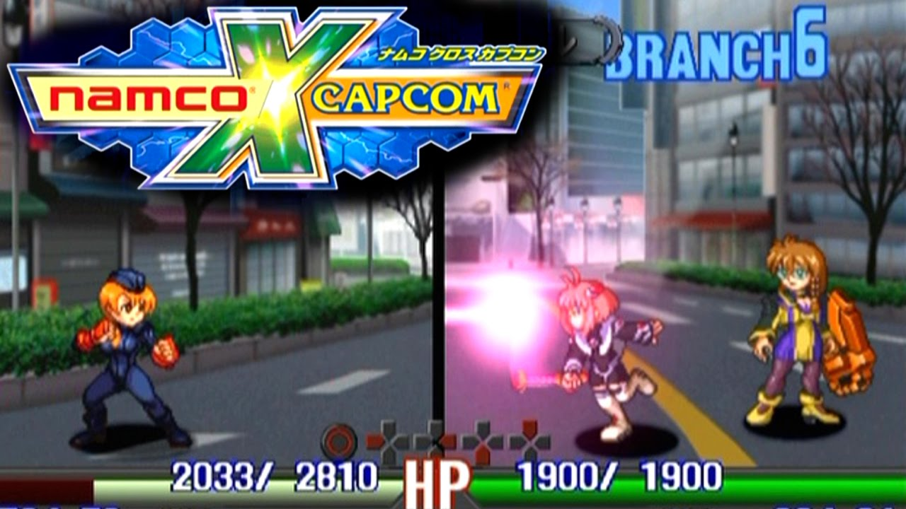Namco X Capcom (English Patched)     (PS2)