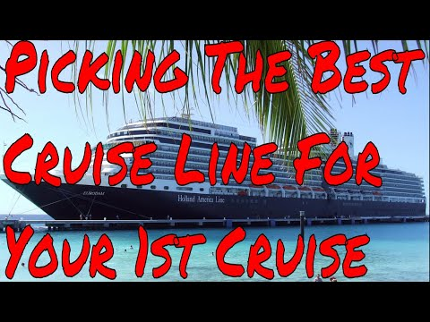 How To Choose the Best Cruise Line and Ship For Your First Cruise Vacation