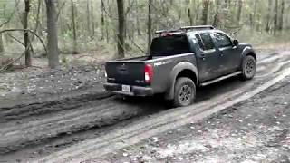 Wet sand performance on 4X2. 2015 Nissan Frontier PRO-4X  on Florida off road trails.