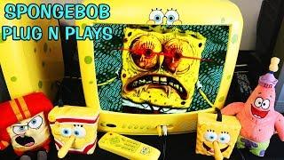 Spongebob Squarepants &amp Patrick FRY COOK GAMES Nickelodeon Plug N Plays