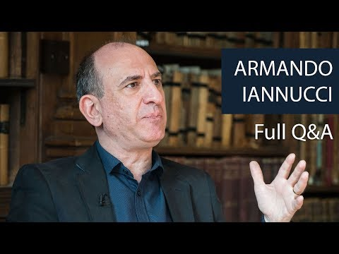 Armando Iannucci | Full Q&A | Oxford Union