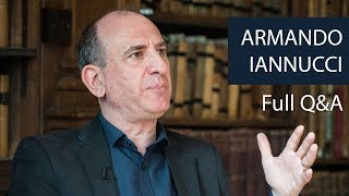 Armando Iannucci | Full Q&A | Oxford Union