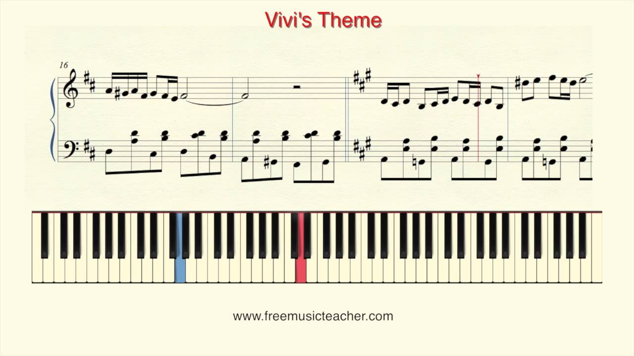 how to play piano final fantasy ix vivis theme piano tutorial by ramin yousefi