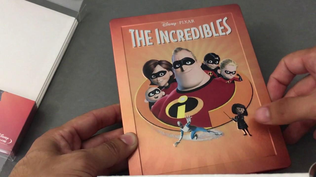 "vavvi.com|pimpandhost.com 010"" THE INCREDIBLES [ZAVVI] PIXAR LIMITED EDITION STEELBOOK COLLECTION #10 BLU  RAY REVIEW"