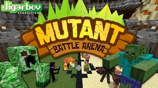 Minecraft Mutant Battle Arena - Gameplay Walkthough Part 1 - Mutant Rush Mode Scary Mutants