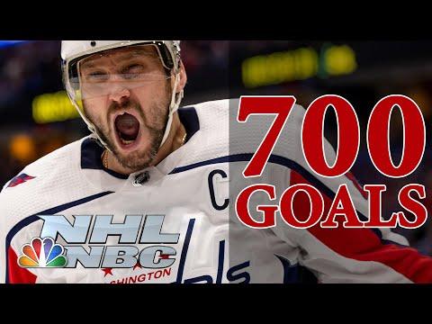 Alex Ovechkin's milestone goals on the road to his historic 700th   NBC Sports