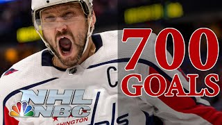Alex Ovechkin's milestone goals on the road to his historic 700th | NBC Sports