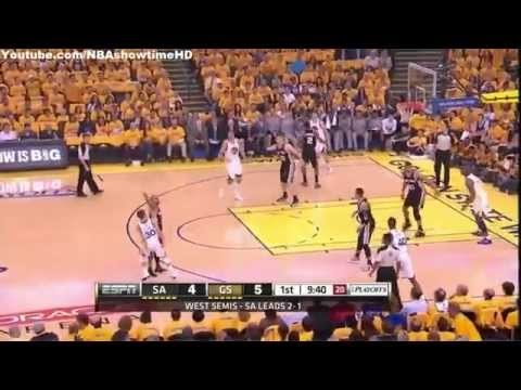 Golden State Warriors vs. San Antonio Spurs / Game 4 - May 1