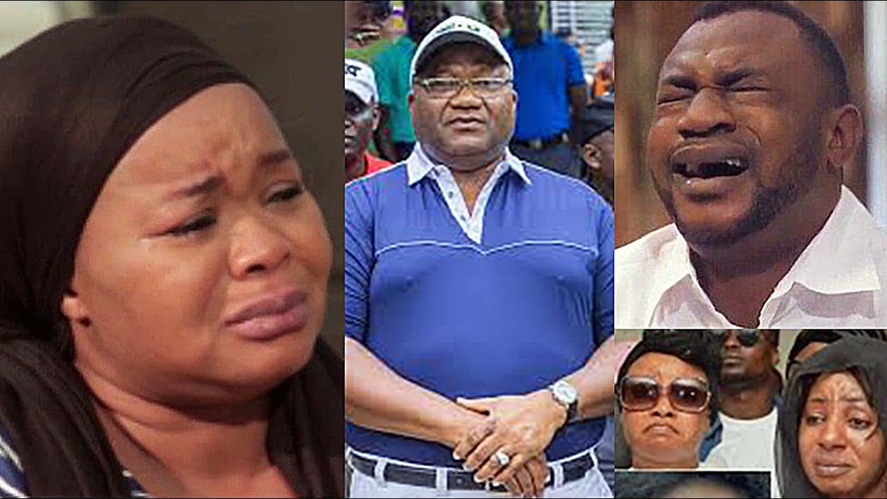Download 'We're All With You' Yoruba Actors In Tears As They Comfort Bimbo Oshin After Losing Her Husband