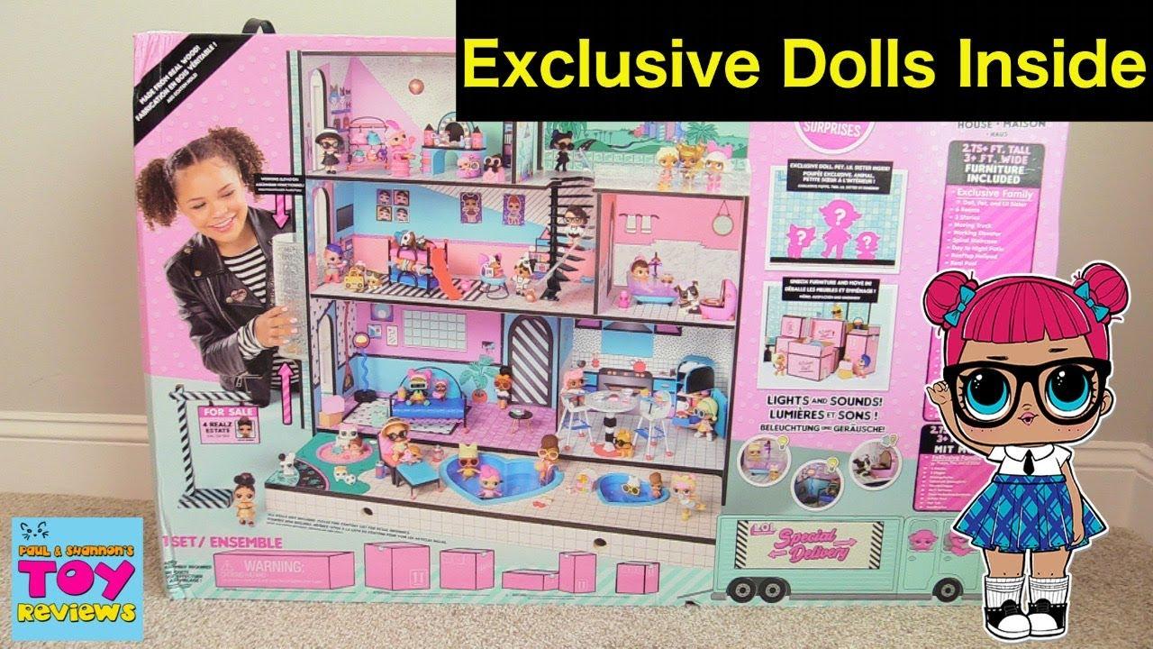 Lol Surprise Doll House Dollhouse Surprise Blind Bag Moving Truck