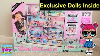 Baixar LOL Surprise Doll House Dollhouse Surprise Blind Bag Moving Truck Unboxing Review | PSToyReviews