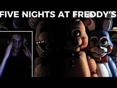xQc Plays Five Nights at Freddy's | with Chat!