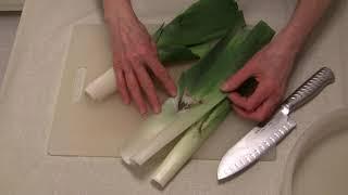 How to Wash and Freeze Leeks
