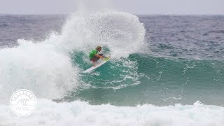 Pull&Bear Pantin Classic Galicia Pro 2017 Highlights: Big moves win high scores on day 2