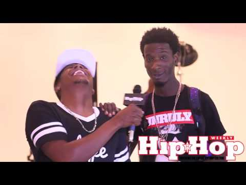 Hip Hop Weekly takes you inside Enyce photo shoot with Migo's and Puma