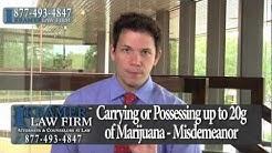 Orlando Criminal Defense Lawyer - Maximum Penalty for Possession of Marijuana