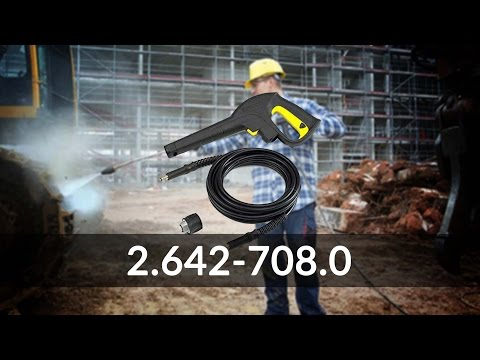 Karcher 2.642-708.0 Gun and Hose Set with Quick Connect