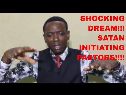 SHOCKING DREAM!!!  SATAN INITIATING PASTORS!!!
