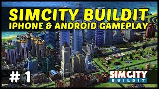 SIMCITY BUILDIT iOS iPhone & Android Gameplay - Ep1
