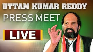 Congress Leader Uttam Kumar Press Meet | ABN Telugu