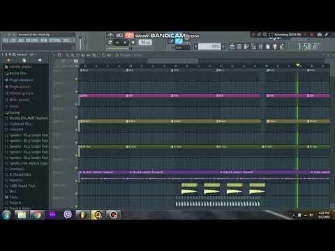 Mobb Deep - Survival of the fittest FL Studio 12 remake