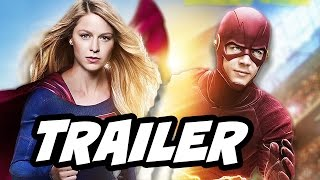 The Flash Supergirl Musical Episode Promo - The Flash 3x17