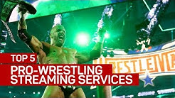 Top 5 pro-wrestling streaming services