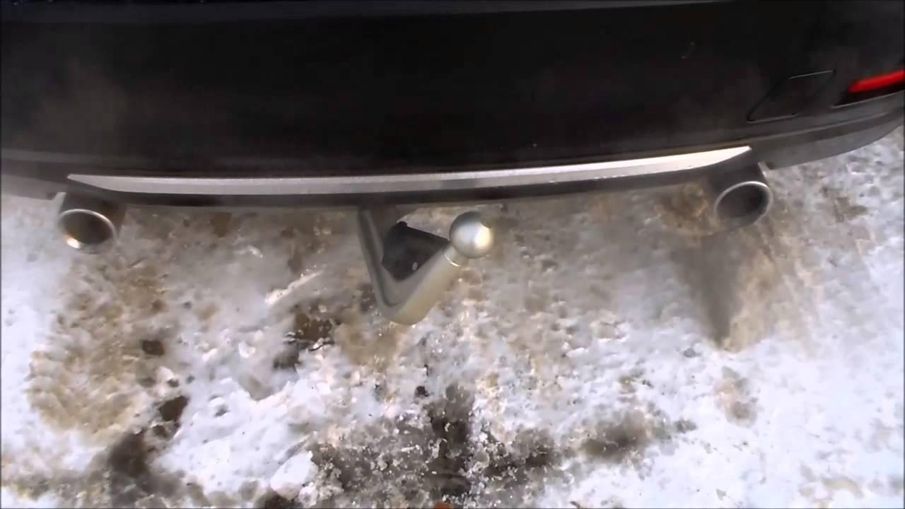 bmw 335i f30 elektrisch schwenkbare anh ngerkupplung youtube