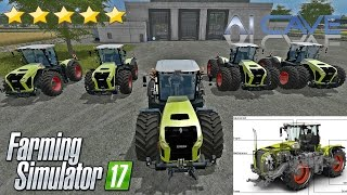 Farming Simulator 2017 Tractor Mods - Class Xerion 4000, 4500, 5000 100% Working Beast